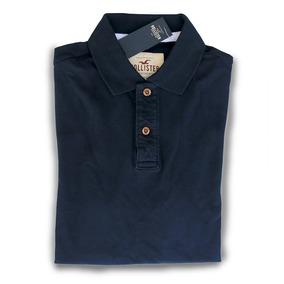 c88f2c36aa Camisa Polo Hollister Abercrombie Slim Fit Original P