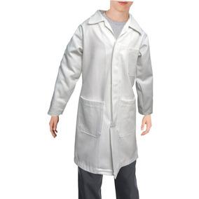 Bata De Laboratorio Para Niño Infantil 100% Algodón 4 A 16