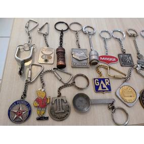 Chaveiros Antigos Metalicos Anos 70 Colecionaveis (unidade)