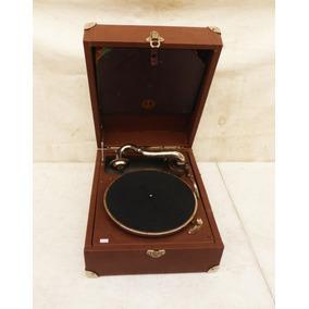 Grafonola Antiga Paillard - Suiça - Gramofone