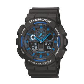 Relógio Casio G-shock Masculino Anadigi Preto Ga1001a2dru