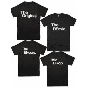 Playeras Hip Hop Rap Dj De Coleccion Para Familia Original