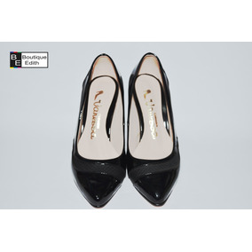 Fiesta Para Perú Envíos De Mujer Zapatos Negro Brillante 6UnzqwxFtB
