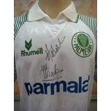 Camisa Futebol Palmeiras Sp Rhumell Antiga 699