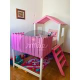 Cama Infantil Individual Montessori.- Garden