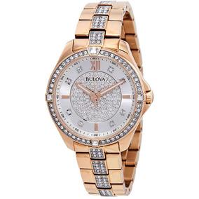 bb204fbdea8d Reloj Bulova Mujer   Varios Modelos   100% Originales!