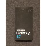 Samsung Galaxy S7 Flat Color Azul Marino.
