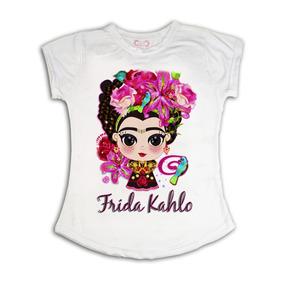 Playera Frida Kahlo Caricatura Fridita Opcion Mayoreo