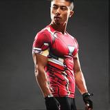 Camisa Homem De Ferro Marvel Compressao