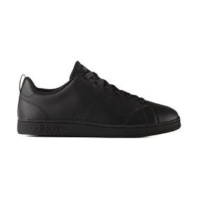 Tenis adidas Negro Advantage Casual Clasico Original Hombre
