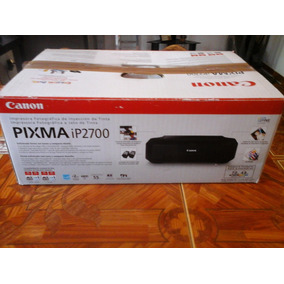 Impresora Canon Pixma Ip2700
