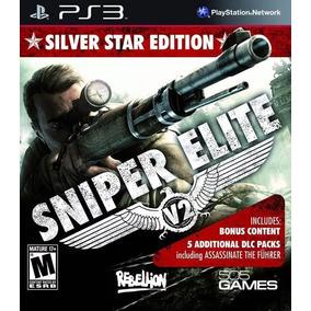 Jogo Sniper Elite V2 Silver Star Edition Ps3 5 Mídia Física