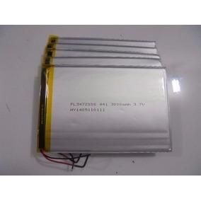 Bateria 3000 Mah Tab Dl,tectoy,navcity,cce Lenoxx, Multlaser