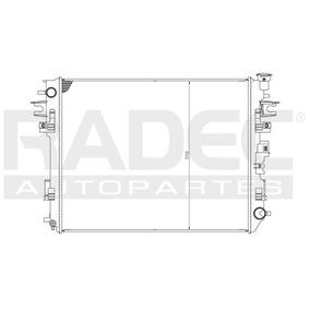 Radiador Agua Dodge Ram 1500 V6 3.7l 2009-2011
