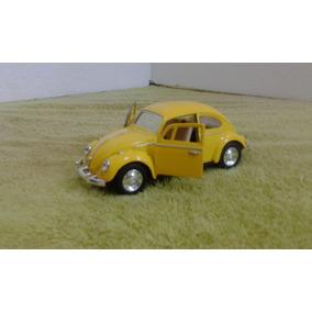 Miniatura De Carro Carrinho Wolkswagen Fusca 1967 Kinsmart F