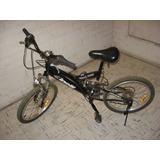 Bicicleta Montaña Aro 20 Niño Cinelli Shimano Amortiguador