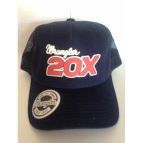 Boné Wrangler 20x Azul Marinho 7eac589f02b