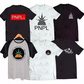 Kit C 6 Camisa Pineapple Pnpl Música Poesia Acustica Froid 0ace61b447226