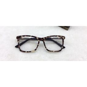 9c9c1f09df094 Oculos De Nerd Quadrado De Onça - Óculos no Mercado Livre Brasil