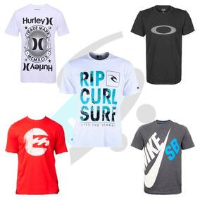 Kit 20 Camiseta Camisa Masculina Estampada De Marca Revenda 38b0a981527