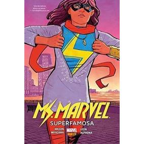 Hq - Ms. Marvel - Superfamosa - Completo Em Pdf