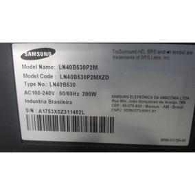 Lcd Samsung Ln 40 B 530 (peças)