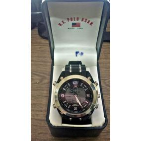 7d56eef76ed Relógio U.s. Polo Assn. Original Pulseira Em Couro - Relógios no ...