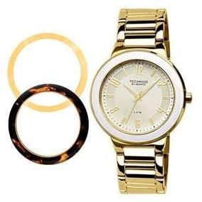 07d4c34d98e 4x Elegance St. Moritz Rel Gio Technos Feminino 2035ffr - Relógios ...