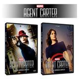 Dvd Agent Carter 1ª E 2ª Temporada Completas