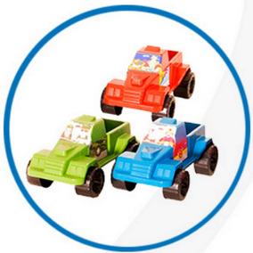 Pick-up Power - Brinquedo Plástico Kit 15 Peças Atacado #