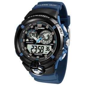 01d01e36c42 Relógio X Games Xmppd 241 - Joias e Relógios no Mercado Livre Brasil
