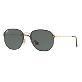 Oculos Sol Ray Ban Rb3579n 001 71 58mm Preto Dourado Lt G15 6f1abf3d88