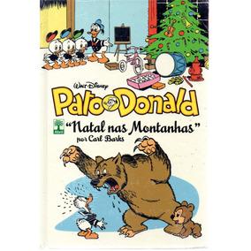 Pato Donald Natal Nas Montanhas - Abril Bonellihq Cx350 G18