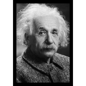 Quadro Decorativo Albert Einstein Físico Teórico