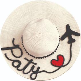 Chapéu De Praia Personalizado Chapéu Com Nome Várias Cores