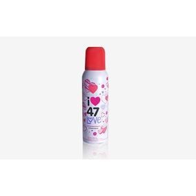 Desodorante Antitranspirante Aerosol 47 Street Love 140ml