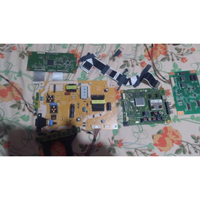 Placa Panasonic Kit Completo Modelo Tc-l39em6b