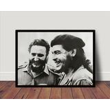 Quadro Che Guevara Fidel Comunismo Socialismo Cuba P1372 66a40f85438