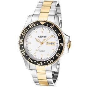 3b149250875 Relógio Magnum Automático Máquina Aparente Lindo - Relógios no ...
