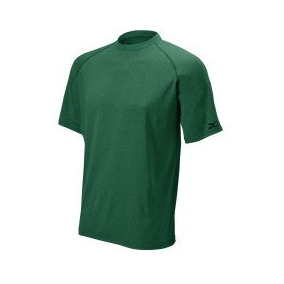 Mizuno Playera Soft Touch Manga Corta Heather Nueva Green M 7bf7d2e201964