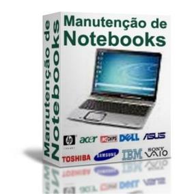 Curso Manutenção De Notebooks E Tablets Em 4 Dvds A19
