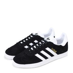 premium selection ed7e0 a5ba1 Zapatillas adidas Gazelle Negras En Rangers