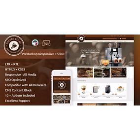 Prestashop - Tema Coffee Responsivo