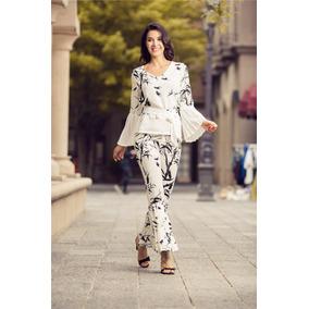 Elegantes Conjuntos De Pantalon Y Blusa Para Damas - Ropa y ... 29c40b0fb1f