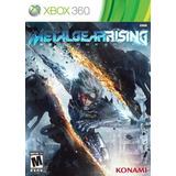 Juegos,metal Gear Rising Revengeance - Xbox 360...