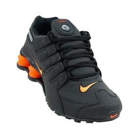 2a866b90151 Tênis Masculino Feminino Nike Shox Nz Original Na Cx +frete