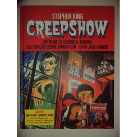 Darkside Graphic Novel Stephen King Creepshow Capa Dura