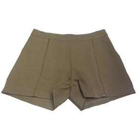 Shorts Social Crepe Bolso Faca Promoção