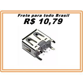 Conector Usb Femea Pioneer 100% Original 4 Peças