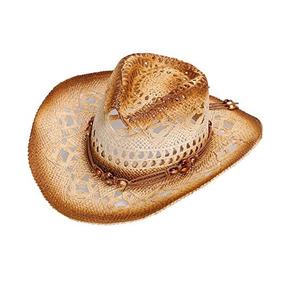 Simplicidad Clasico Vaquero Occidental Sombrero De Paja Band 902ec65da0c